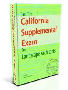 Landscape Architect Registration Examination California Supplemental Resources Landscape Pro