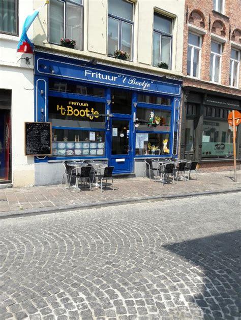 bootje langestraat brugge frituur t bootje bruges restaurant reviews phone