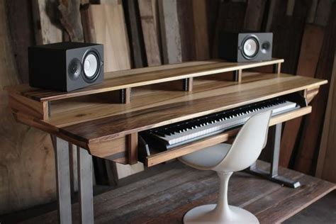 studio desks tables workstations size 88key studio desk for audio
