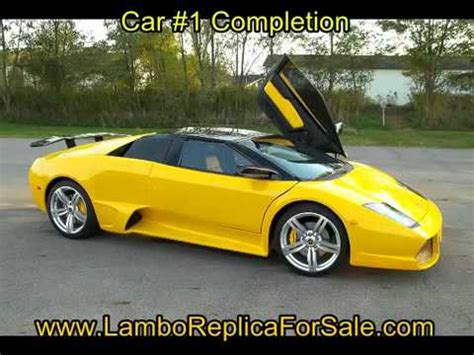 lamborghini car manufacturer lamborghini murcielago replica kit car of car