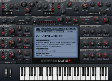 Vst Cinematic Strings 2 1 kvr dune by synapse audio synth analogue subtractive vst plugin and audio units plugin