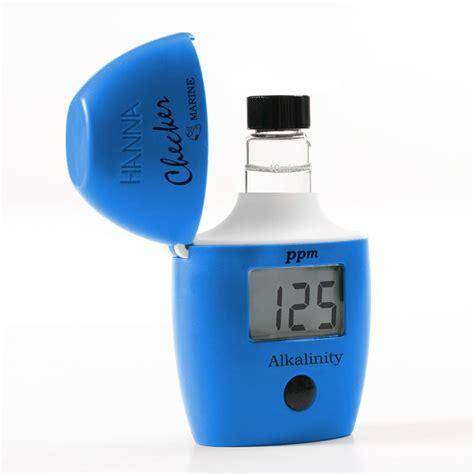 Hi 755 Marine Alkalinity Checker Colorimeter Instruments hi755 checker colorimeter alkalinity checker
