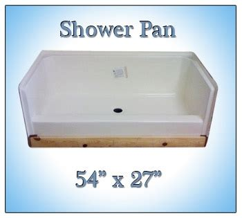 27x54 bathtub 54x27 fiberglass replacement shower pan