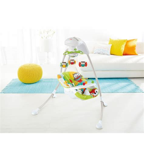woodland swing fisher price woodland friends cradle n swing d