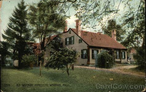 Whitman Post Office by Whitman Homestead Postcard