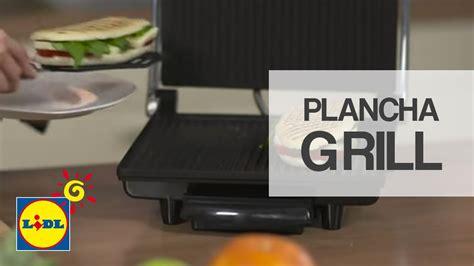 tostadora lidl plancha grill lidl espa 241 a youtube