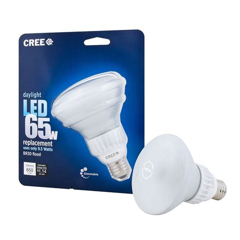 Cree Led Flood Light Bulb Cree 65w Equivalent Daylight Br30 Dimmable Led Flood Light Bulb 4 Pack Pppa Avi Depot Much