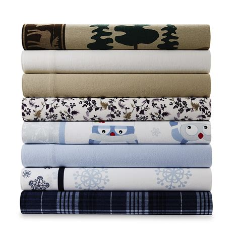cold bed sheets 4 piece flannel sheet set