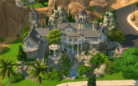 Medieval Home Decor by Mod The Sims Rivendell Elven Outpost No Cc