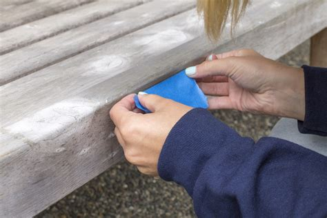 bench refinish how to refinish a weathered bench dunn diy