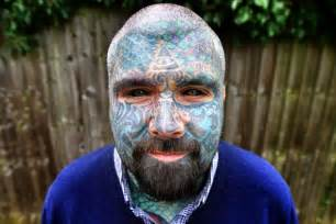 extreme tattoo man man who calls himself the king of inkland says he can t