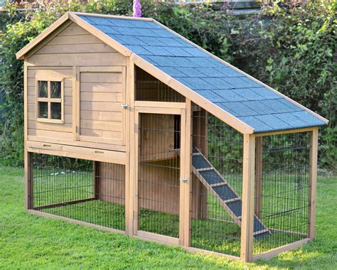 Big Bunny Hutches the villa 7ft large rabbit hutch all hutches outdoor rabbit hutches