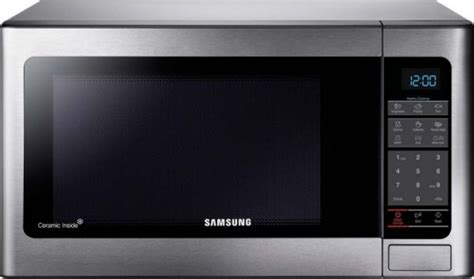 samsung mg34f602mat 34 liter microwave oven silver souq uae