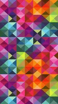 colorful iphone wallpaper colorful shape pattern iphone 5 wallpaper view