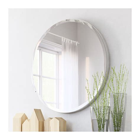 safety mirrors for bathrooms ronglan mirror aluminium 80 cm ikea