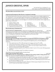 hr generalist cover letter sle resume exle for fair resume cover letter sles