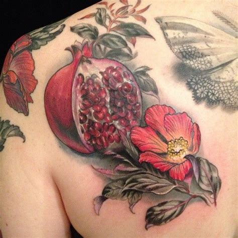 a pomegranate is a powerful symbol of fertility and