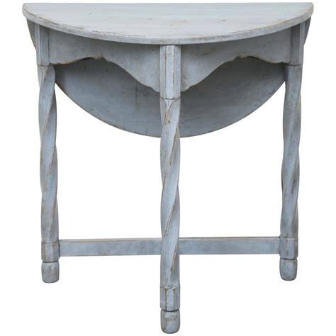 Painted Drop Leaf Table Antique Swedish Painted Small Drop Leaf Table Mid 19th Century At 1stdibs