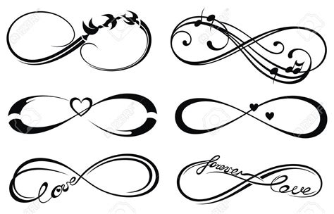 forever love tattoo designs infinity forever symbol ideas tattoos