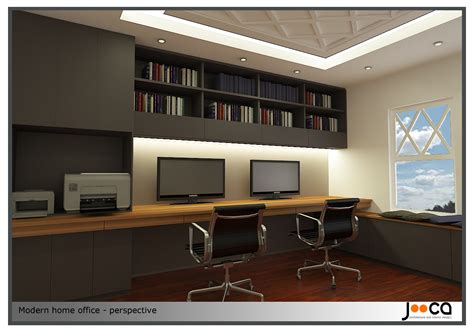 Contemporary Home Office | arcbazar com viewdesignerproject projecthome office