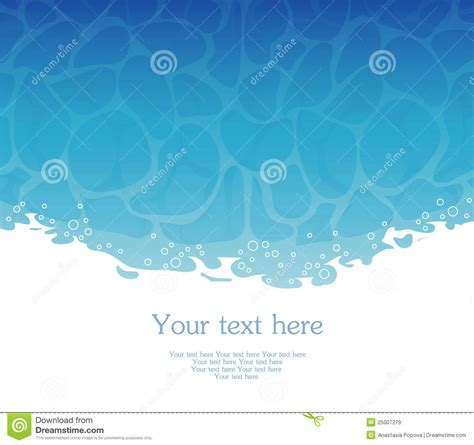 water template water template royalty free stock images image 25007279