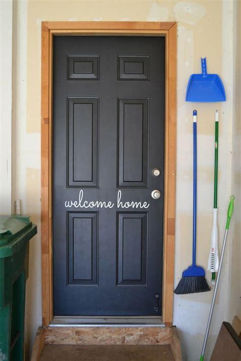 dressing   garage entry door giveaway diys crafts