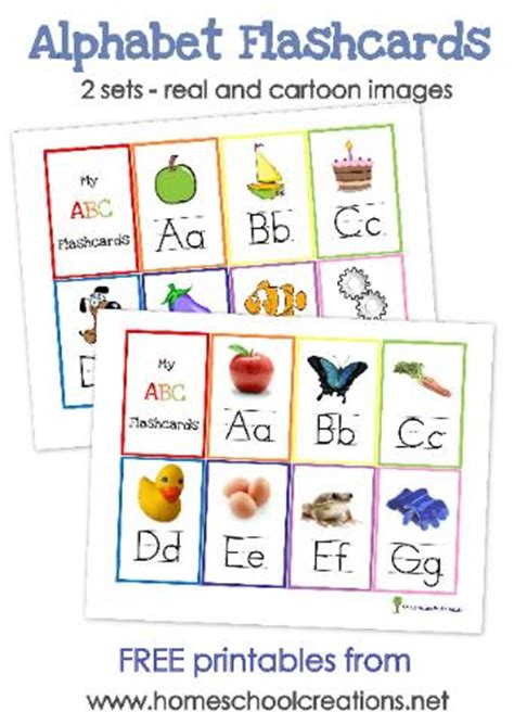 letter cards for words preschoolalphabet