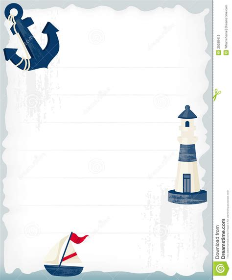Nautical Theme by Nautical Background Royalty Free Stock Images Image