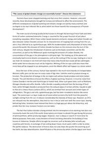 Geography Essay geography essay on global warming