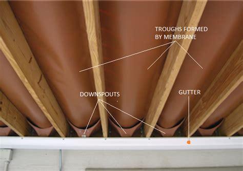 ways  create waterproof dry space   deck hometips