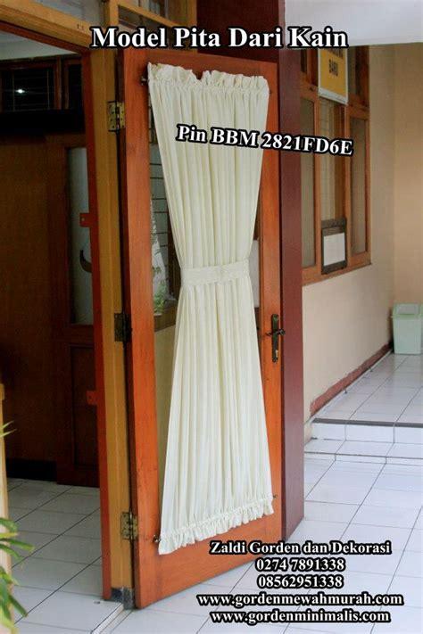 Tirai Gorden Rumah Model Taiwan Batik Kupu Kupu Tirai Anti Nyamuk gorden minimalis gorden jendela rumah gorden murah cantik zaldi rachael edwards