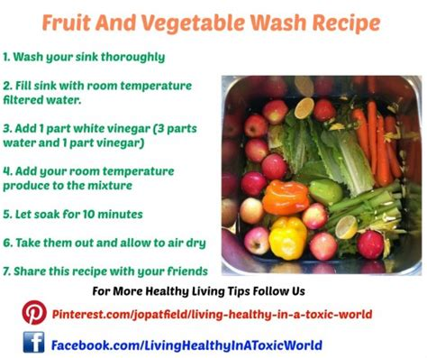 fruit and vegetable wash 3 diy recipes to make your own fruit and vegetable wash
