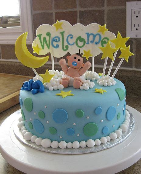 Baby Shower Cake With Baby On Top by Welcome Baby Boy Cake Ideas 117089 Baby Shower Cake With Y