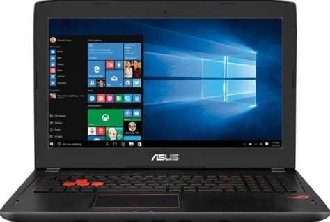 Laptop Asus Rog Gl502vm asus rog gl502vm bi7n10 laptop 15 6 ips g sync technology intel i7 7700hq cpu 12gb