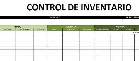 control de inventario en excel hoja para control de inventario bs 1 500 00 en mercado