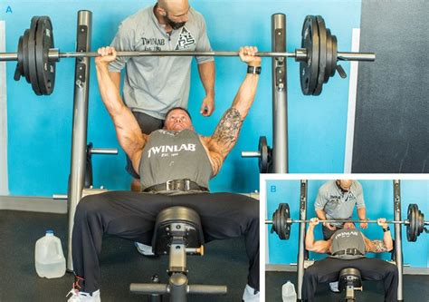 big bench press routine jason wheat s big and strong mvp chest workout