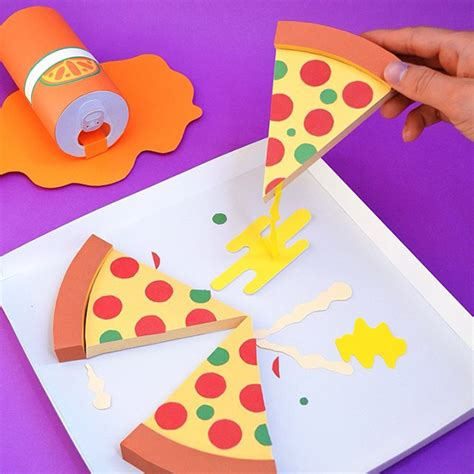 How To Make Paper Pizza - perez design crush
