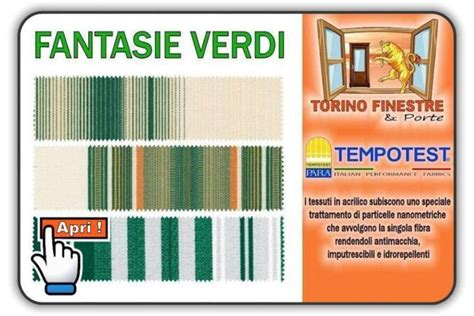 catalogo tende da sole catalogo tessuti tempotest in acrilico tende da sole torino