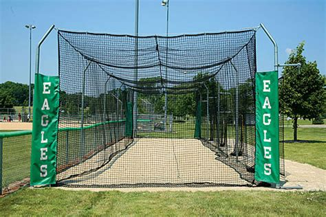 baseball batting cages for backyard outdoor modular batting cages for baseball and softball