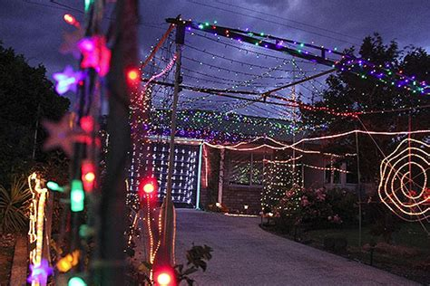 homes are lighting up in the spirit of christmas file photo