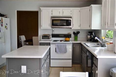 painting kitchen cabinets before after painting kitchen cabinets before after