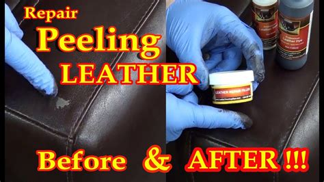 How To Patch Leather by Repair Peeling Leather