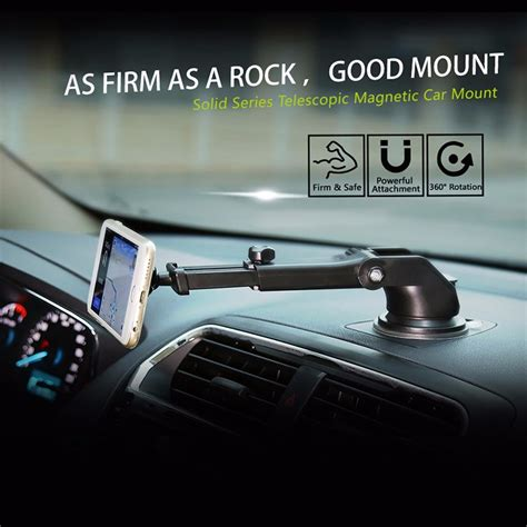 Magnetic Dashboard Mount Car Phone Holder baseus magnetic car phone holder car magnetic bracket mount stand for dashboard wind shield for