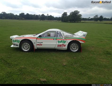 Lancia Race Car by Lancia 037 Recreation Rally Cars For Sale At Raced