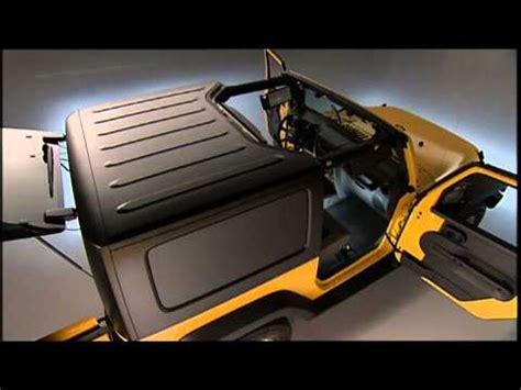 Jeep Hardtop Removal 2013 Jeep Wrangler Freedom Top Modular Top Removal