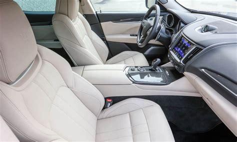 maserati levante interior back seat fahrbericht des neuen maserati levante suv fahrtest 2016