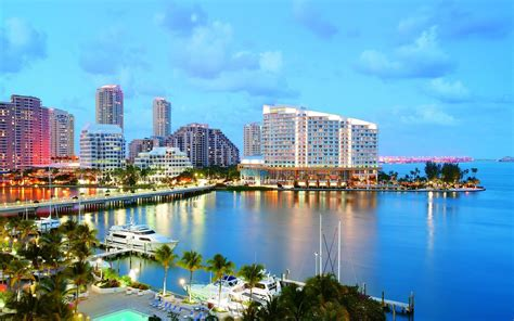 of miami miami wallpapers the city skyline across the