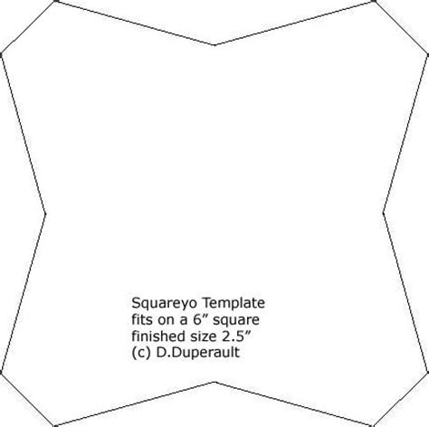 square templates for quilting square yoyo quilt template sew what s new