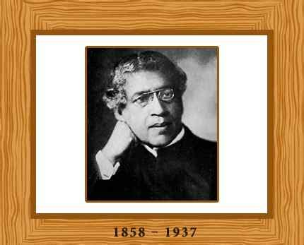 jc bose biography in english jagadish chandra bose biography facts and pictures
