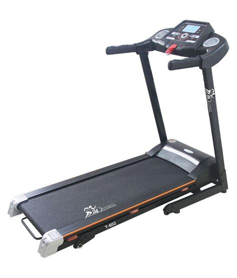 Treadmill Elektrik 2 Hp fit24 fitness 2hp motorised treadmill with speakers buy at best price on snapdeal